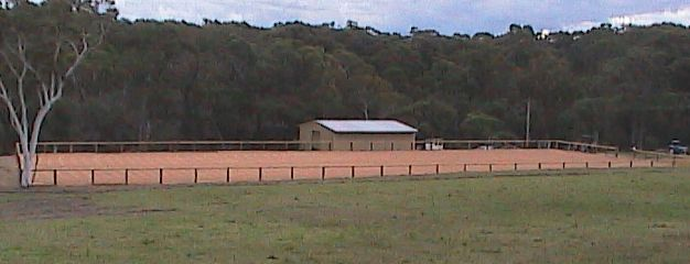 Dressage Arena completed